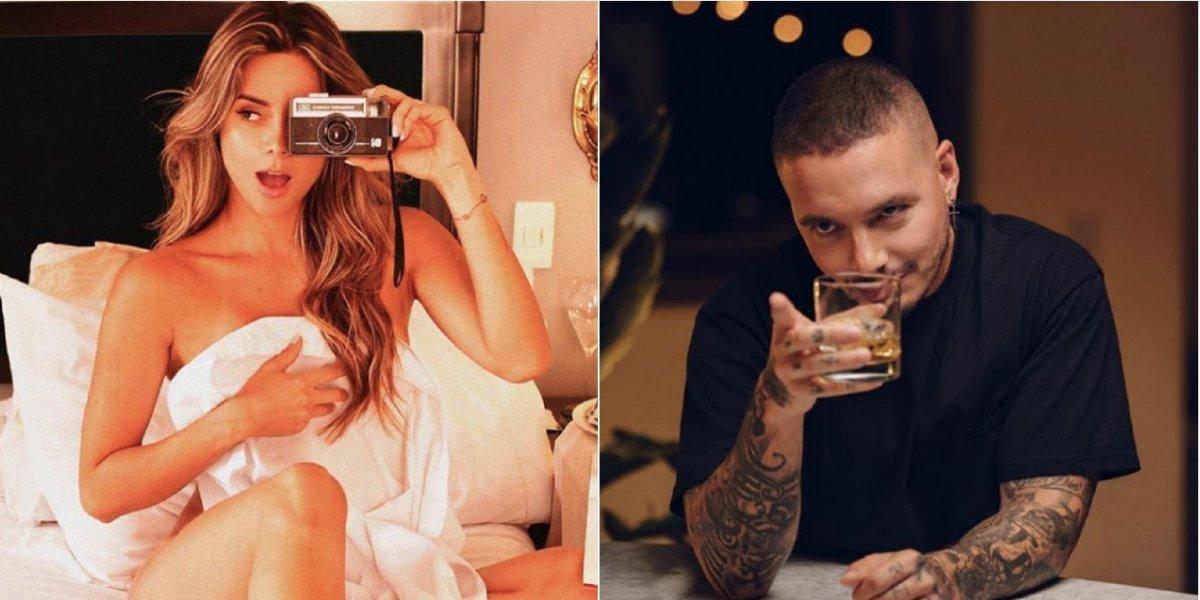 ¿Vuelven? Así es el coqueteo entre J Balvin y Alejandra Buitrago en Instagram