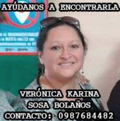 Verónica Sosa habría desaparecido junto a sus dos hijos en trayecto de Machachi a Quito