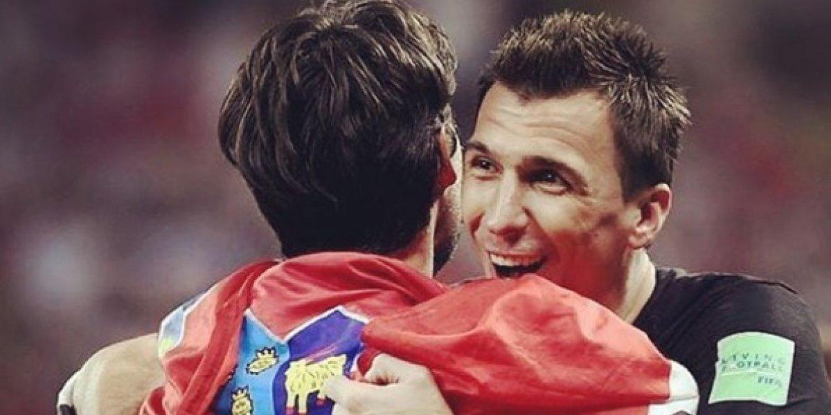 El emotivo adiós de Mandzukic a la selección croata tras el Mundial