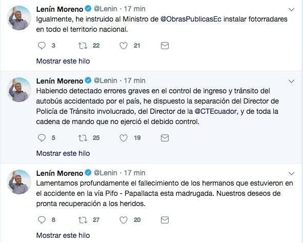 Twitter Lenín Moreno Twitter