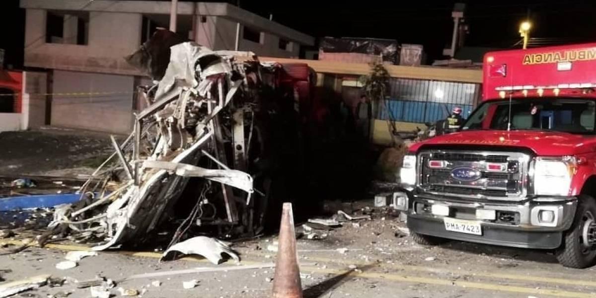 Lenín Moreno se pronunció sobre el accidente vía Pifo-Papallacta