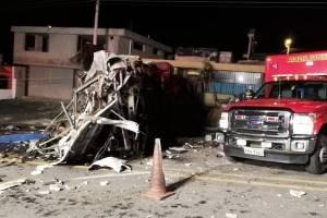 accidente vía Pifo-Papallacta