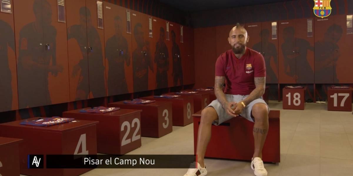 """Vidal se confiesa en Barcelona: """"Soy un jugador de barrio, todo me lo gané a pulso en la cancha"""""""