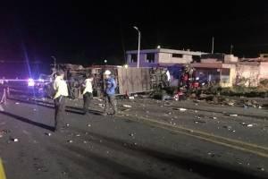 Tres ocupantes del Jeep fallecieron