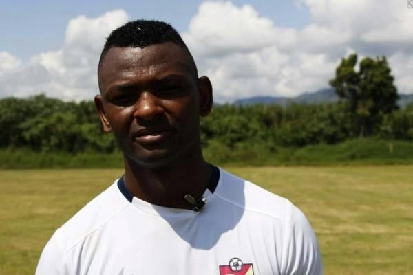 Jugador del Pereira Pichú Núñez