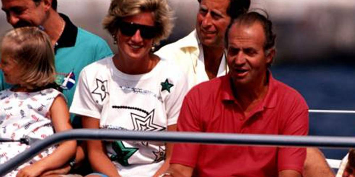 """La confesión de la princesa Diana a su guardespaldas sobre el rey Juan Carlos de España: """"Es demasiado sobón"""""""