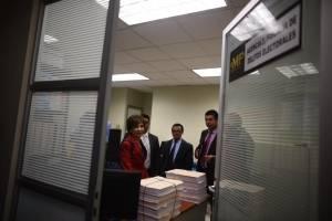 diputada Nineth Montenegro se presenta al MP por antejuicio en su contra