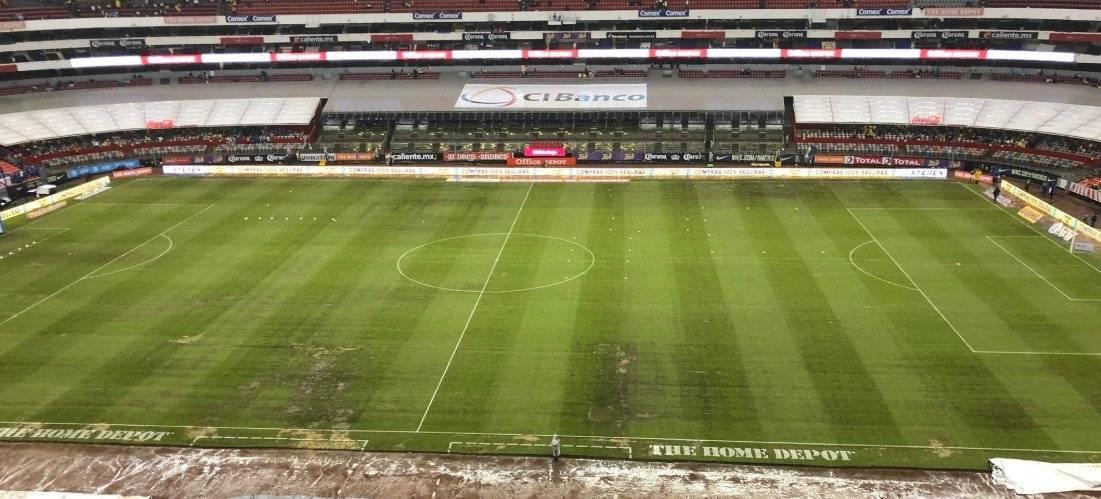 La cancha del Estadio Azteca seguirá en constante actividad |TWITTER