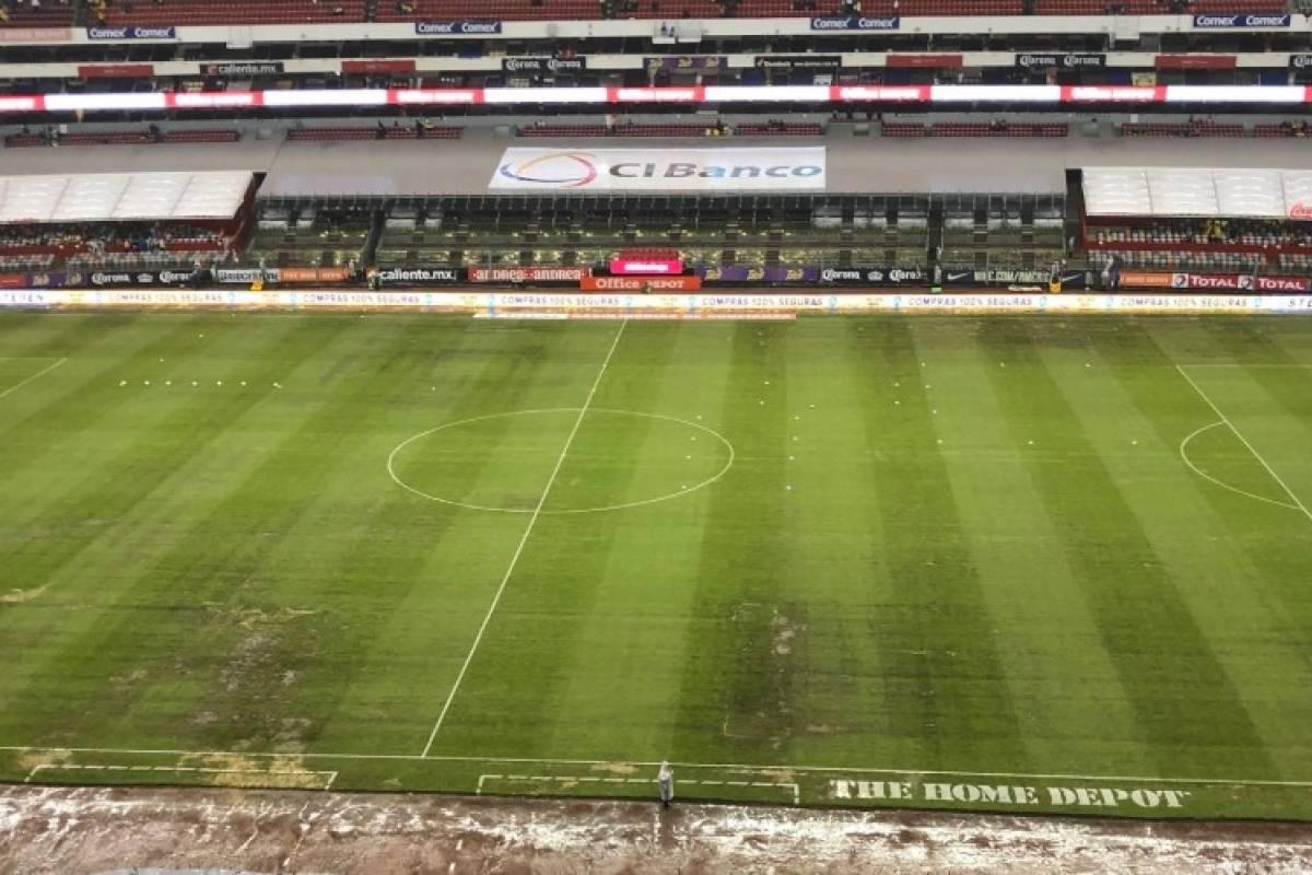 Resultado de imagen para Cancha estadio azteca