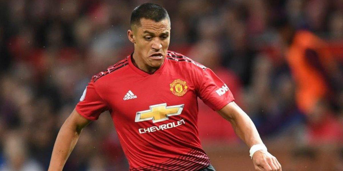 """Referente del Manchester United le mete presión a Alexis: """"Debe marcar un mínimo de 20 goles en la Premier"""""""