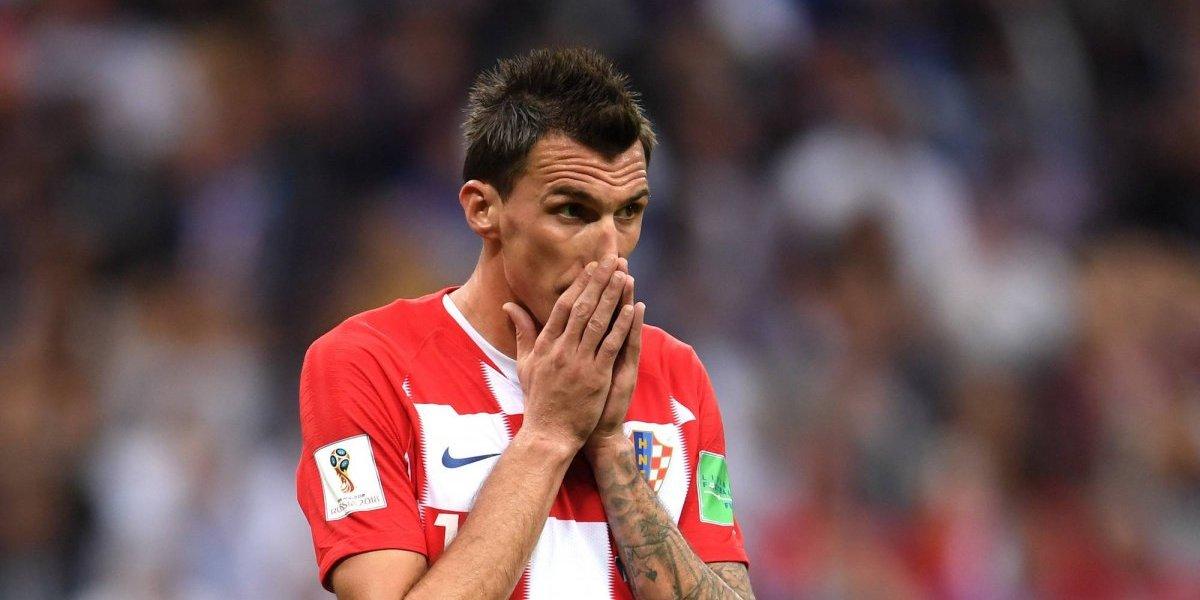 Mario Mandzukic deja la Selección de Croacia