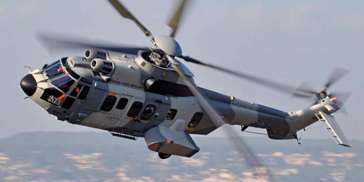 De película: En México quedó filmada la persecución de un helicóptero del ejército a una lancha con toneladas de cocaína