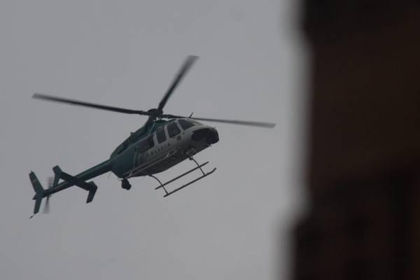 Helicóptero Policía