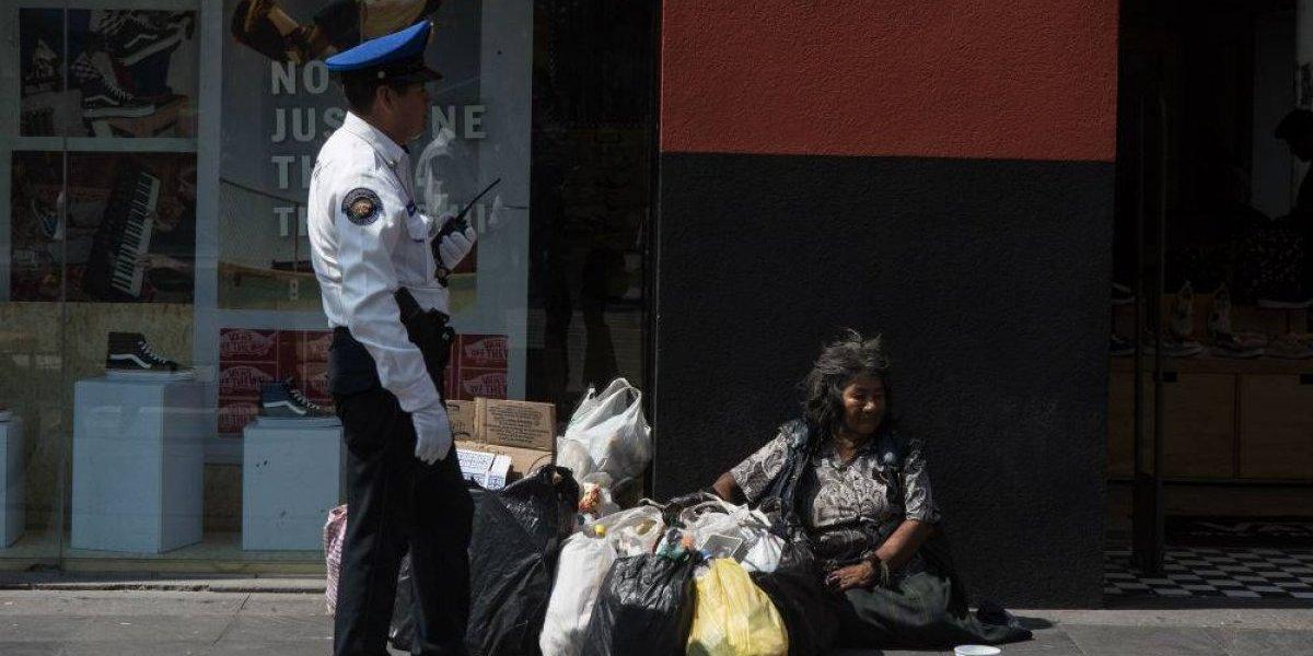 Personas que viven en la calle padecen violencia institucional