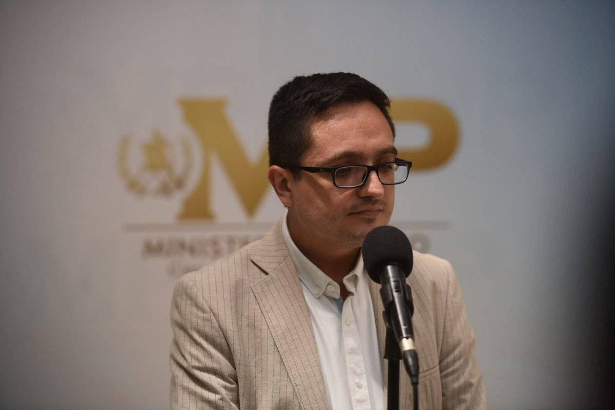 Juan Francisco Sandoval, jefe de la FECI. Foto: Edwin Bercián
