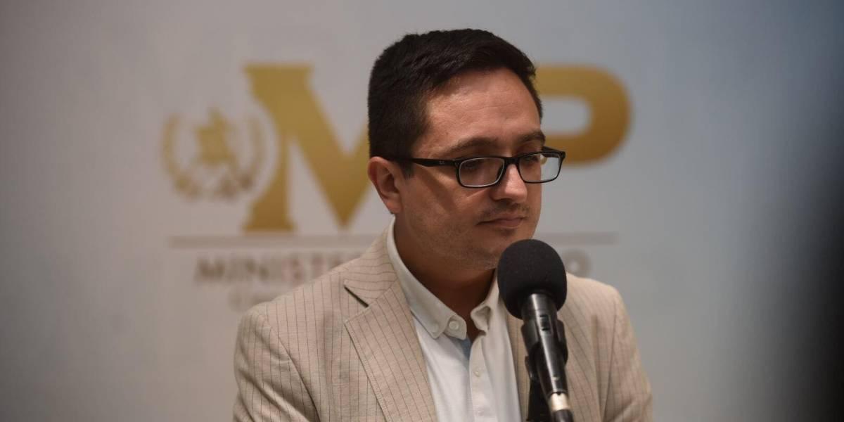 Sentencia del caso Amatitlán demuestra cómo la corrupción afecta altas esferas gubernamentales, según jefe de la FECI