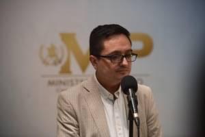 Juan Francisco Sandoval, jefe de la FECI.