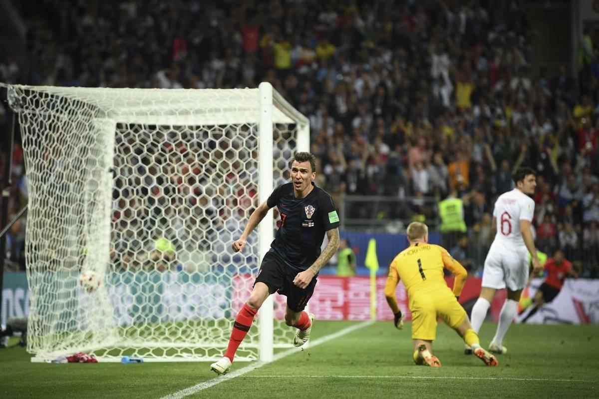 Mandzukic anotó un gol en el Mundial de Rusia
