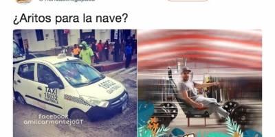 Meme taxi en cemento