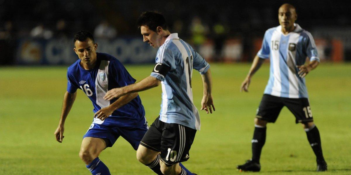 Juan Carlos Plata dice que Messi jugará contra Guatemala en Estados Unidos
