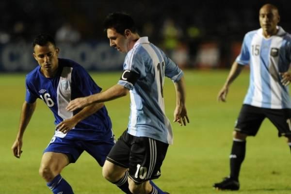 Messi no jugaría ante Guatemala