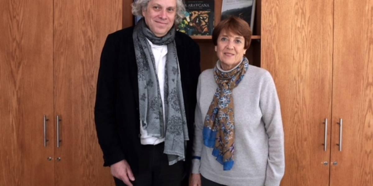 Ministra de las Culturas Consuelo Valdés Chadwick se reunió con el director del Museo de la Memoria y los DD.HH.