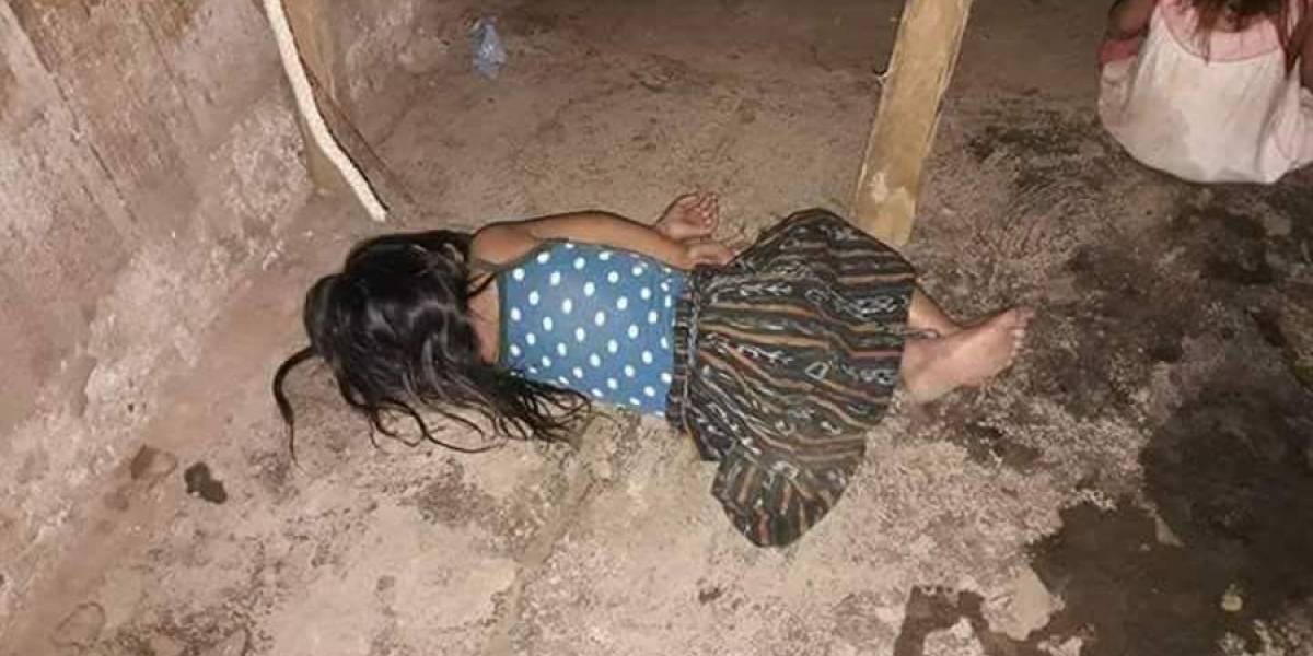Piden ayuda para cuatro niñas huérfanas que duermen en el piso
