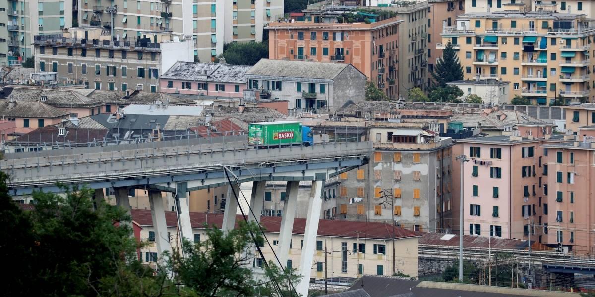 Seis meses após queda, começa demolição de ponte em Gênova