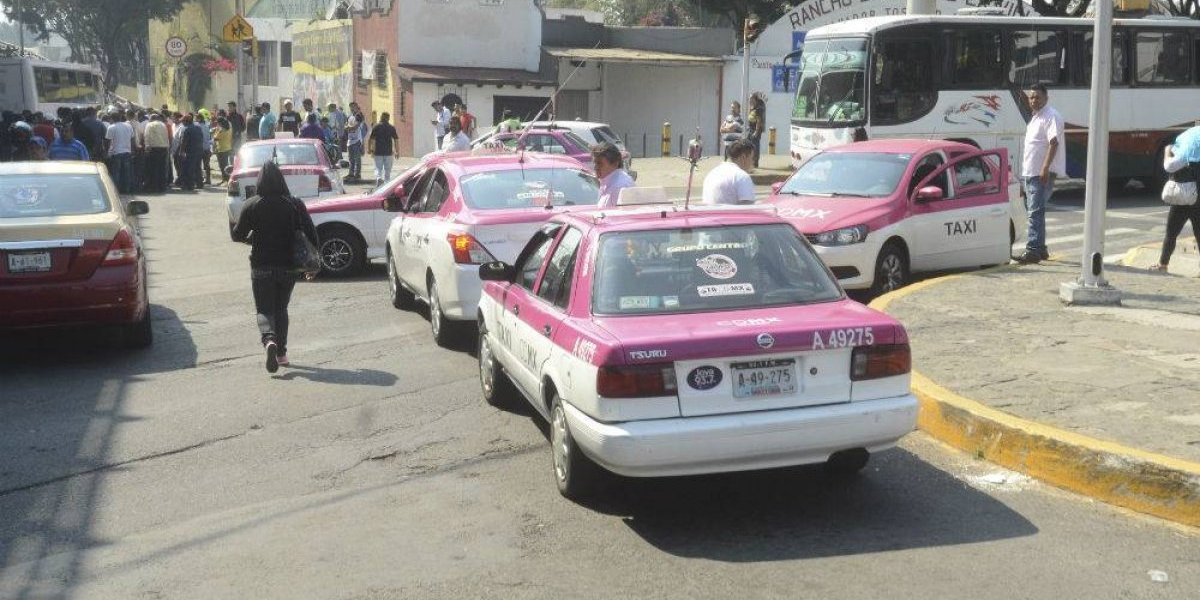 Caen dos en la CDMX por asaltar, secuestrar y violar a mujeres en taxi