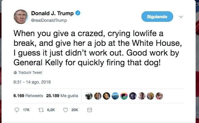 Donald Trump, Tweet, tuit,
