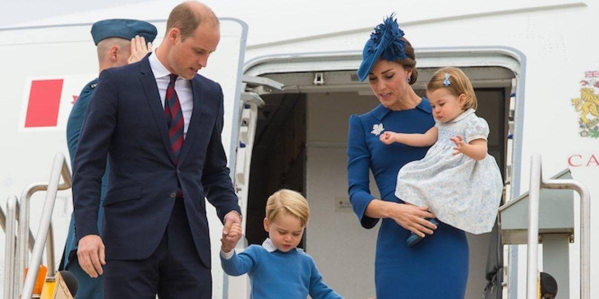 La estricta prohibición que vivió de niño príncipe Guillermo y que rompió con sus hijos