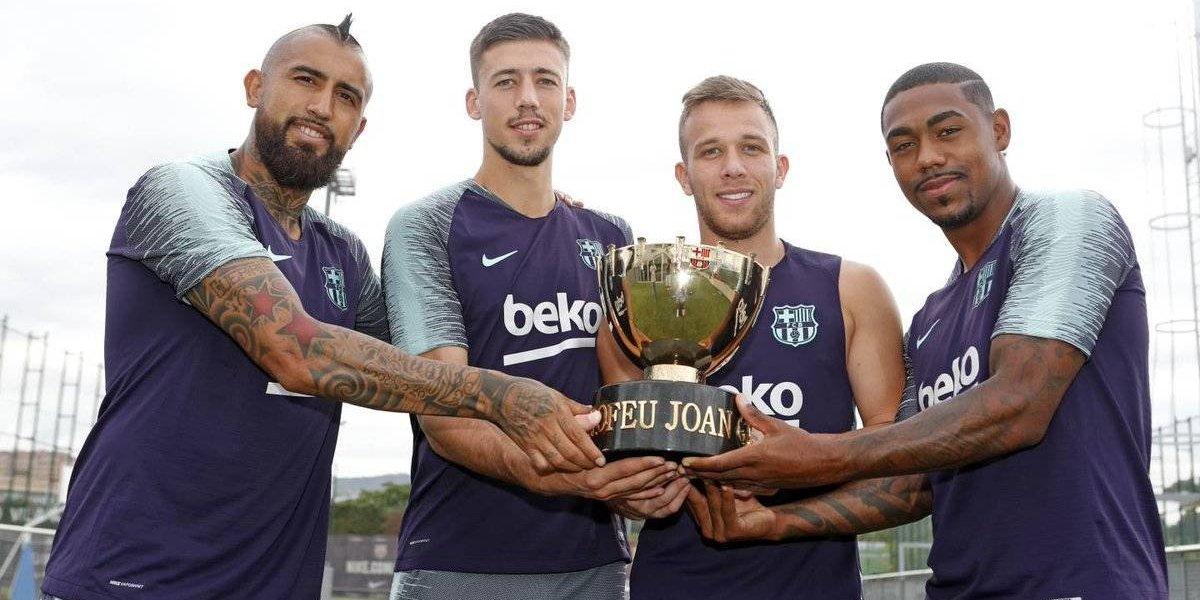 Arturo Vidal está listo para su primera vez en el Camp Nou con la camiseta del Barça