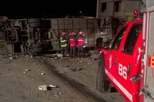 Accidente en Papallacta dejó 24 fallecidos.