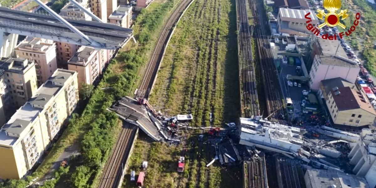 Tragedia en Italia: tres chilenos entre las 39 víctimas fatales del derrumbe de puente en Génova