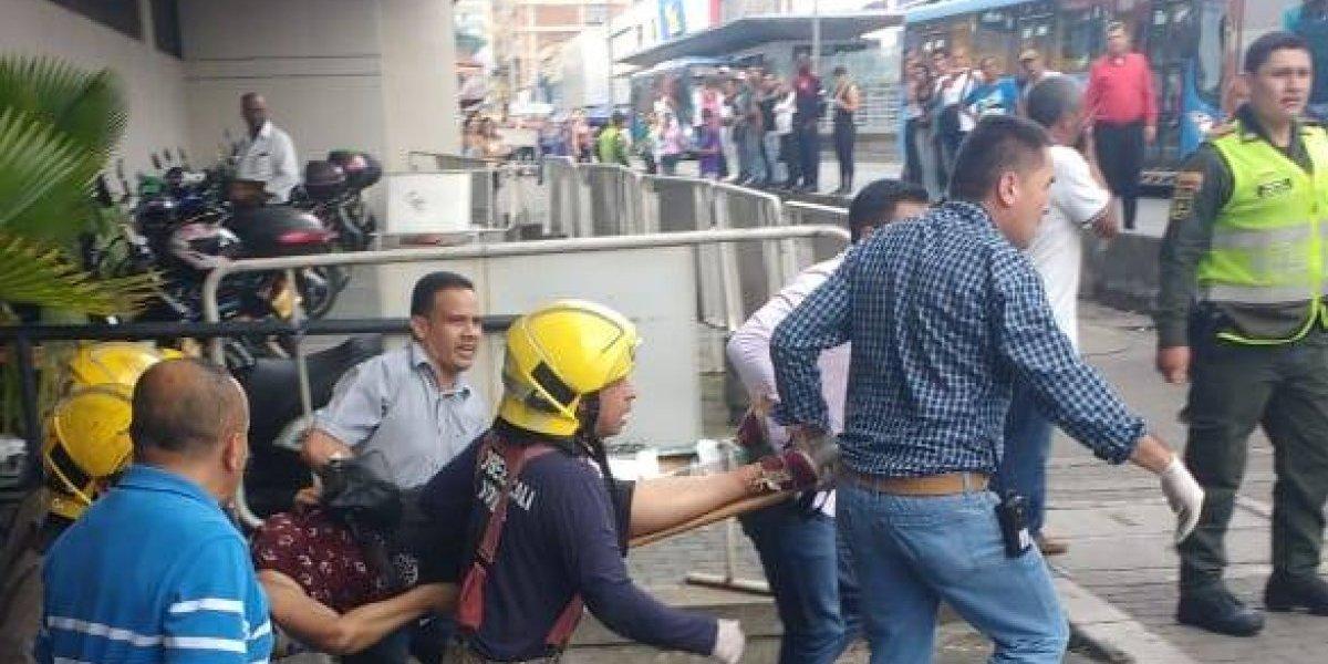 Ascensor se desploma en el Palacio de Justicia de Cali dejando dos muertos y cuatro heridos