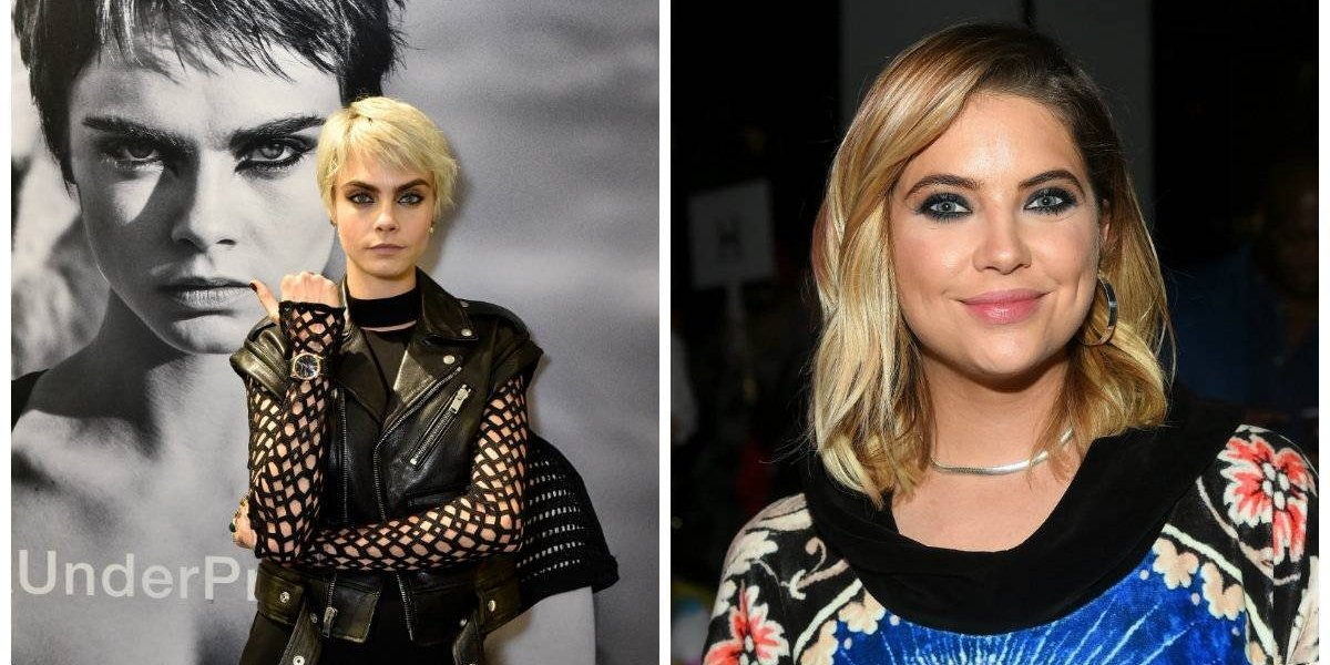 Cara Delevingne y Ashley Benson fueron captadas besándose