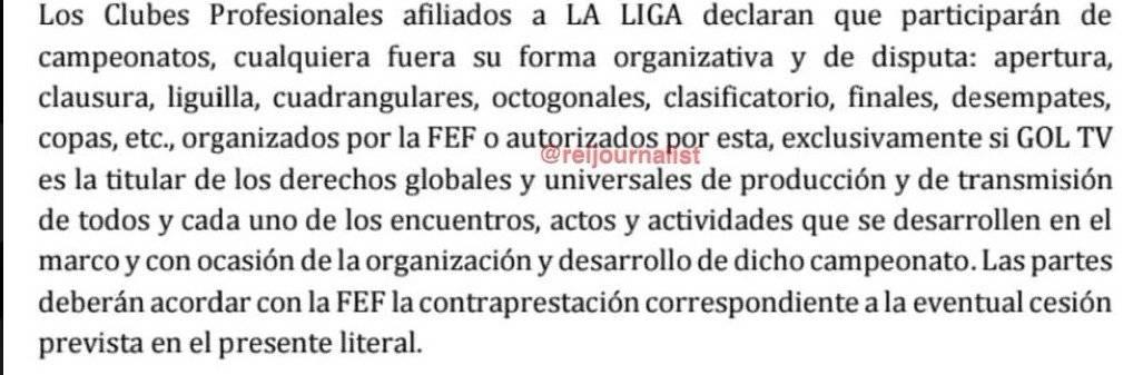 Se revela cláusula contractual que impediría que impediría realización de la Copa Ecuador