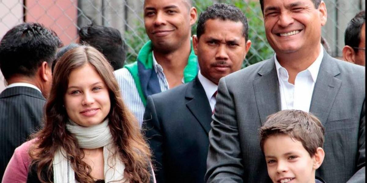 Anne Dominique, la hija de Rafael Correa: ¿Qué hace ahora?