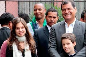 Rafael Correa ¿Cuántos hijos tiene y a qué se dedican?