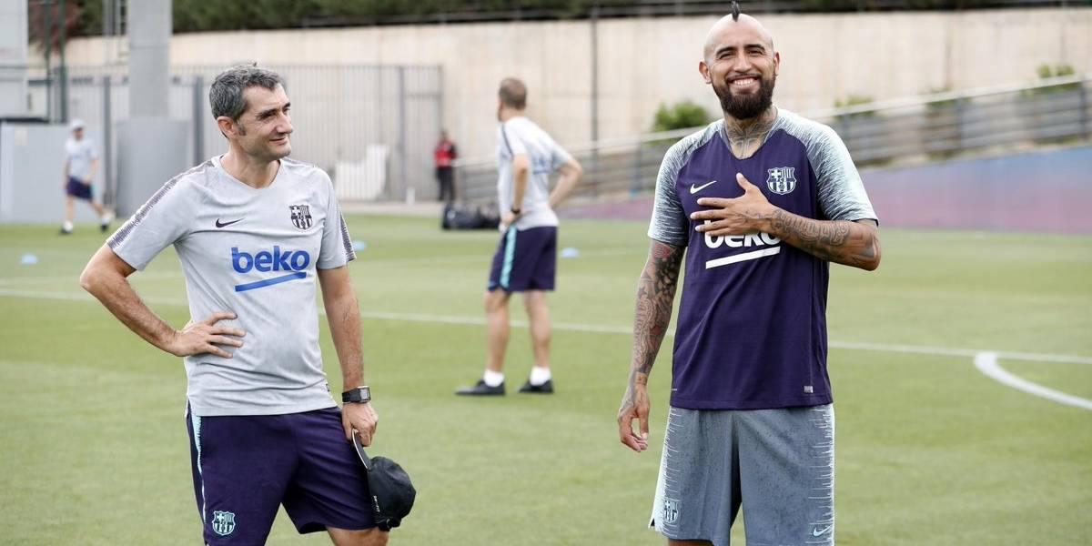 """Presidente del Barcelona se ilusiona con su nuevo Rey: """"Arturo Vidal aportará equilibro al equipo"""""""