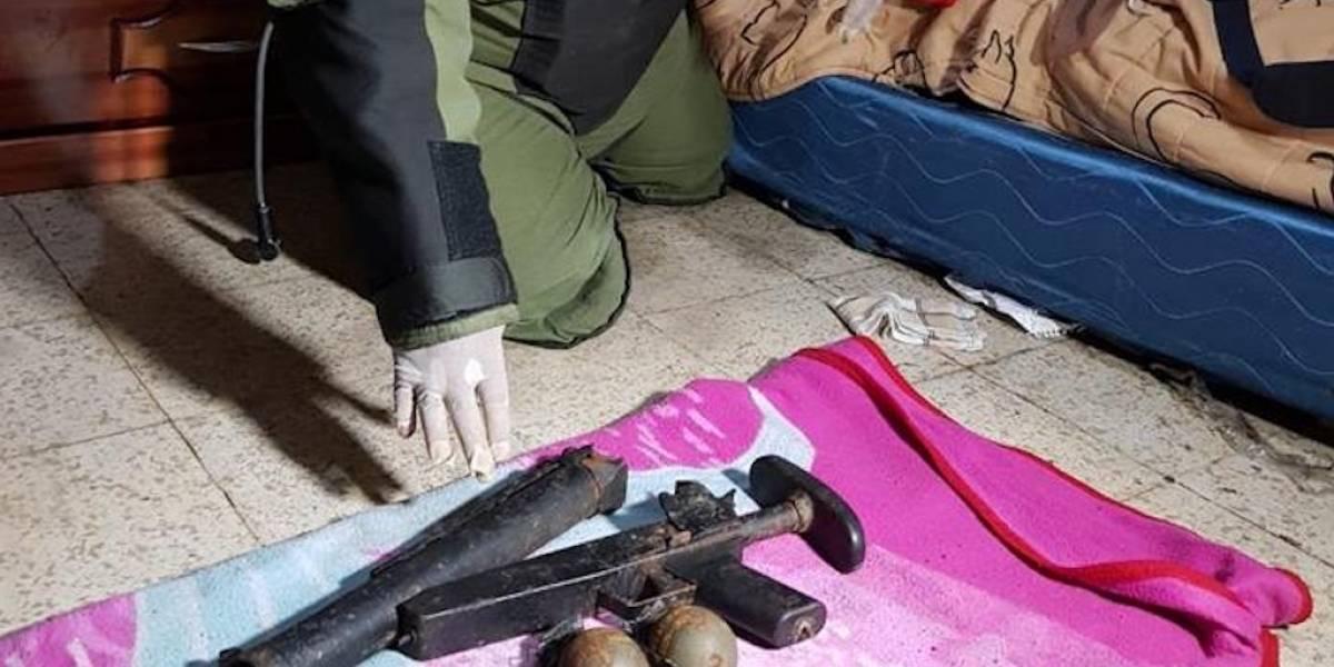 PNC localiza dos explosivos en una vivienda del Barrio San Antonio