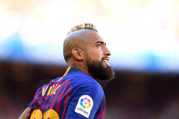 Vidal debutó en el Camp Nou / imagen: Getty Images