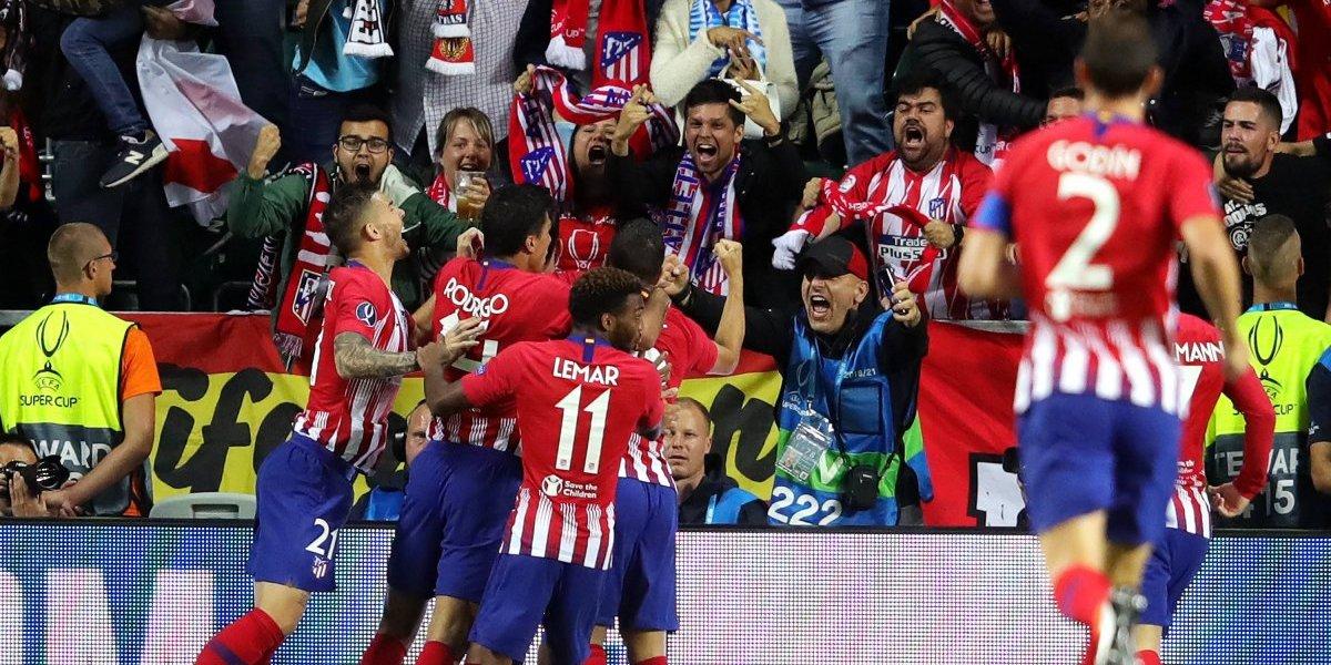 Así vivimos la victoria de Atlético ante el Real en la Supercopa de España