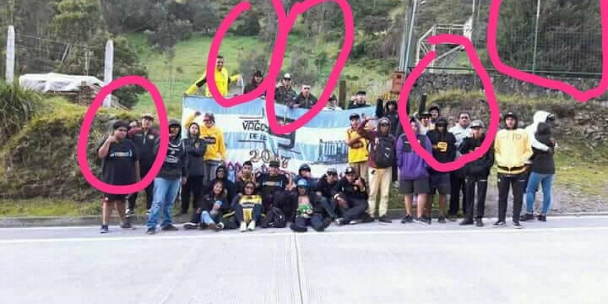 Hincha de Barcelona Sporting Club afirma que hay fantasmas en foto de la barra, antes de la tragedia