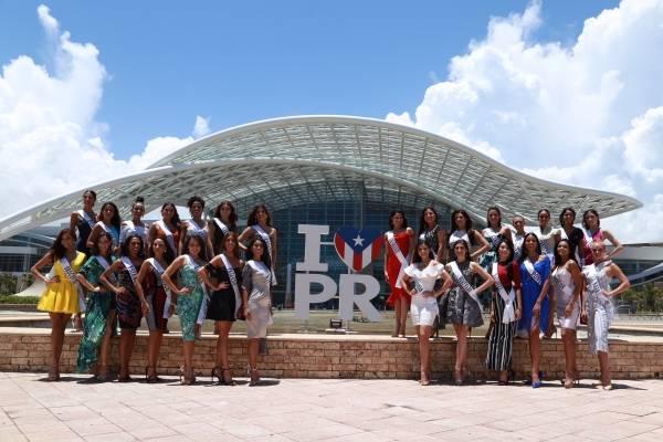 Candidatas de Miss Universe Puerto Rico 2018