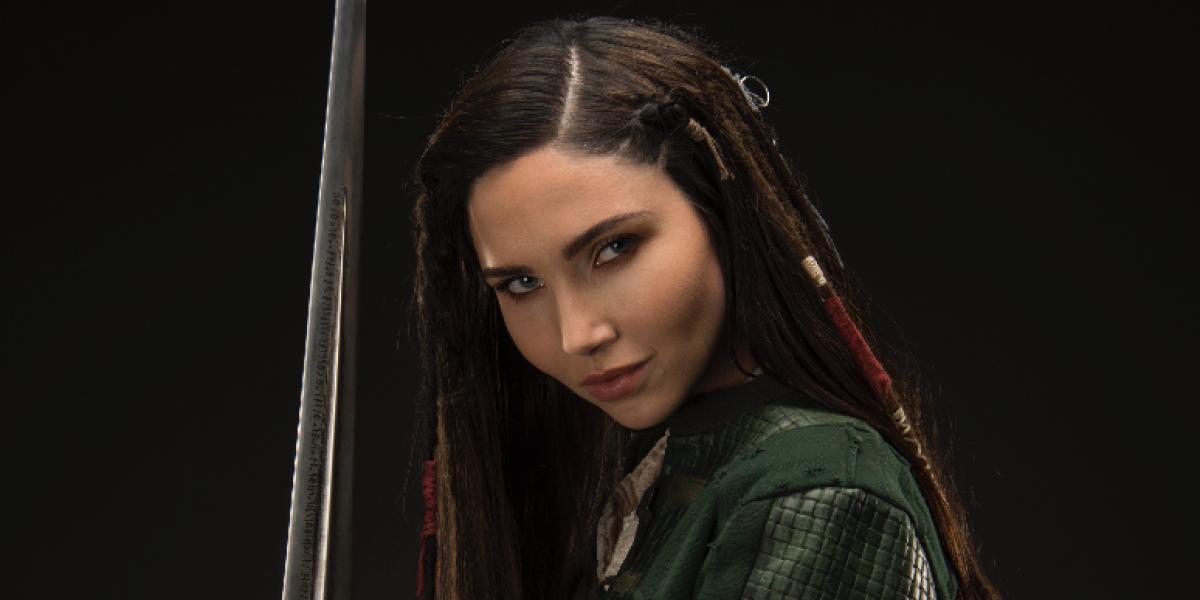 Jessica Green representa a las mujeres guerreras en 'The Outpost'