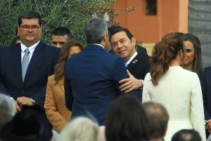 Juramentación de Mario Abdo Benítez.