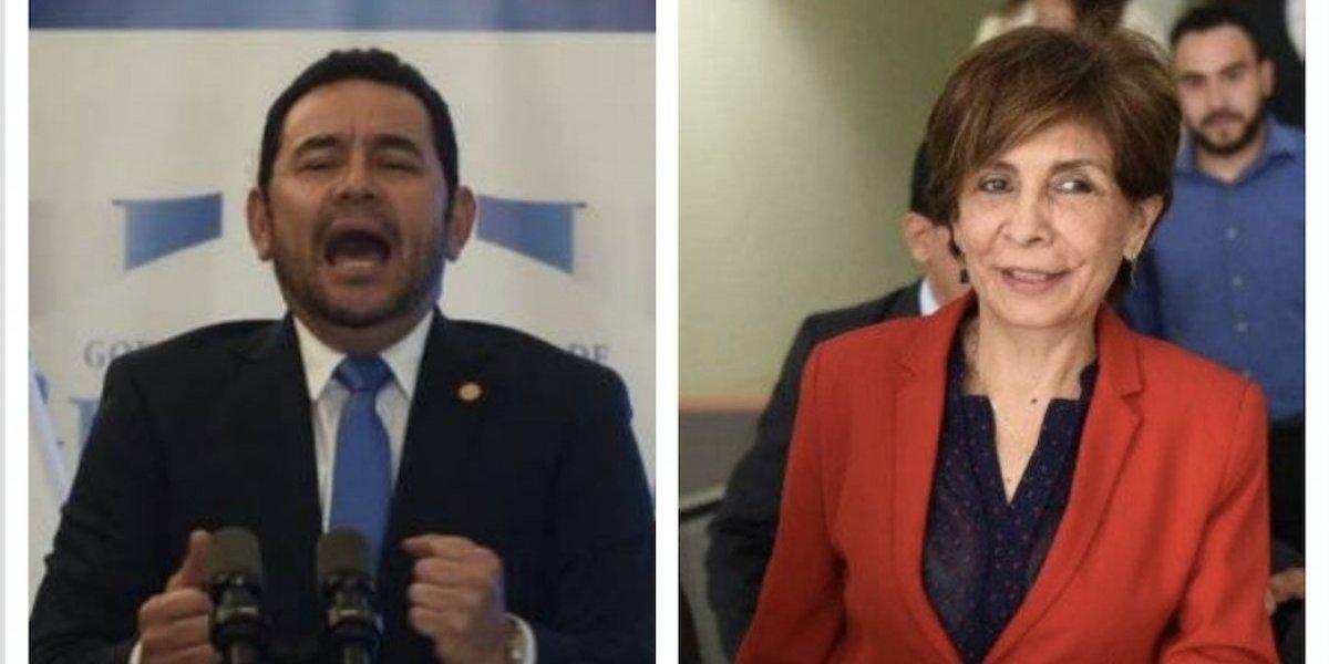Remiten a la CSJ antejuicios de Morales y Montenegro