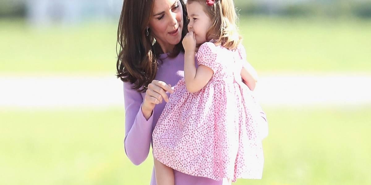 Esta es la razón por la que la Princesa Charlotte no usa pantalones