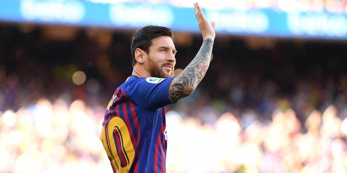 Messi promete regresar al Camp Nou el título de la Champions